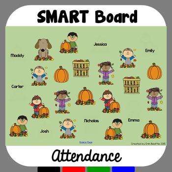 SMART Board Attendance: Fall