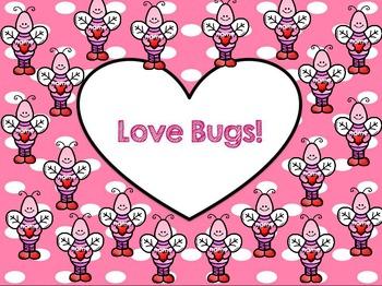 "Interactive Attendance Flipchart ""Love Bugs""eInteract"