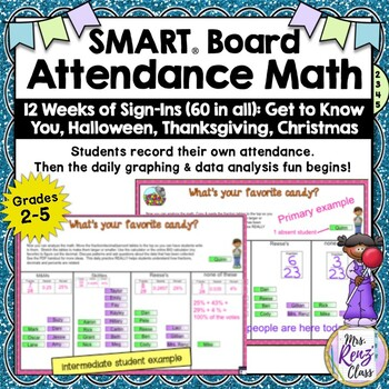 SMART Board Attendance with SMART Board Graphing Helps Improve Math Skills