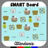 SMART Board Attendance: Pirates
