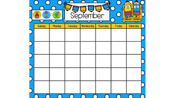 SMART Board August & September Circle Time