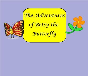 SMART Board: Betsy Butterfly: Math: Beginning Multiplication: Smartboard