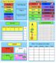 SMART Board Calendar Math for Kindergarten Summer Bundle (June, July, Aug.)