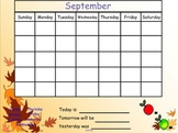 SMART Board Calendar Routine