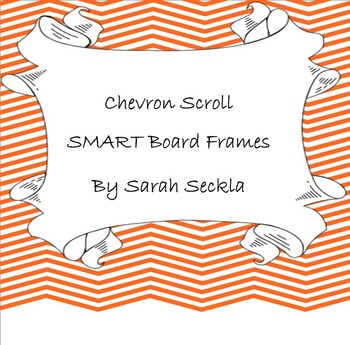 SMART Board Chevron Background Pages Bundle