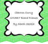 SMART Board Chevron Curvy Background Pages