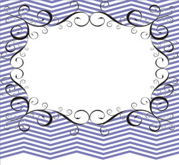 SMART Board Chevron Swirls Background Pages