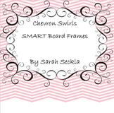 SMART Board Chevron Swirls Background Pages