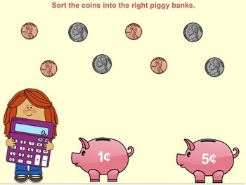 SMART Board Coin Counting