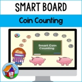 Fun with Money -- Counting U.S. Coins Smart Board Activity