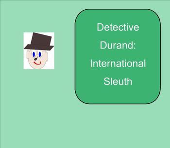 SMART Board: Detective Durand International Sleuth:  Math:  Addition: Smartboard