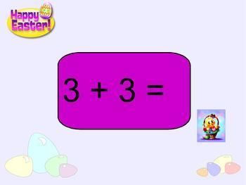 SMART Board: Easter:  Basic Operations Game:  Math:  Smartboard