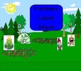 SMART Board: Fantasy Land Math: Basic Operations Game: Mat