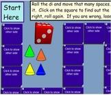 SMART Board Game Board Template