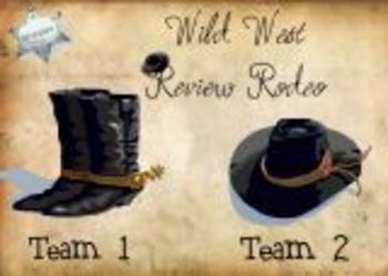 SMART Board Instant Review Game-Wild West
