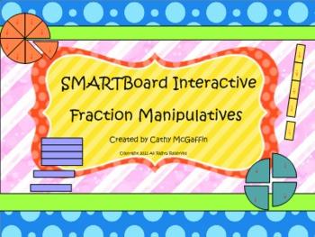 SMART Board Interactive Fraction Manipulatives