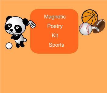 SMART Board: Magnetic Poetry: Creative Writing: Sports: En