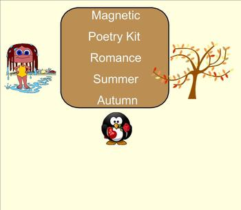SMART Board: Magnetic Poetry: Creative Writing: Summer: English: Smartboard