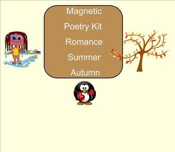 SMART Board: Magnetic Poetry: Creative Writing: Summer: En
