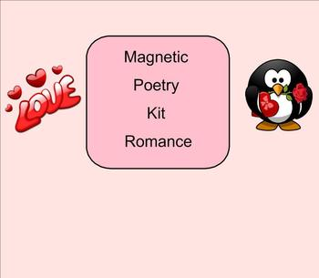 SMART Board: Magnetic Poetry: Creative Writing: Valentines: English: Smartboard