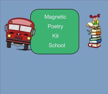 SMART Board: Magnetic Poetry School: Writing: English: Smartboard