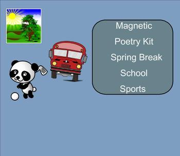SMART Board: Magnetic Poetry: Writing: English: Smartboard