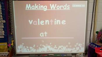 SMART Board Making Words
