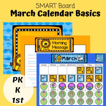 SMART Board March Calendar Basics