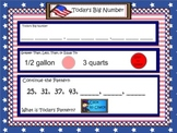 Math Calendar/Calendar Math for SmartBoard Gr 4-5: Day Files Set 5