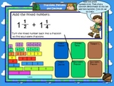 Math Calendar/Calendar Math for SmartBoard Gr 4-5: Day Files Set 8
