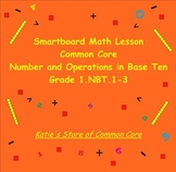 SMART Board Math Lessons Aligned with Common Core 1.NBT.1-3