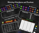 SMART Board Morning Attendance and Routines