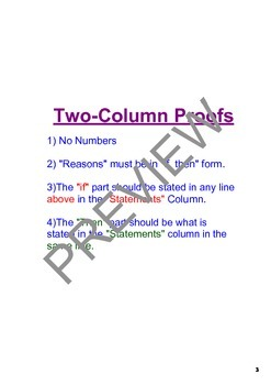 SMART Board Notes - Introduction to Proof