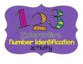 SMART Board Number Identification Activity