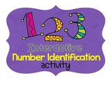 SMART Board Number Identification Activity