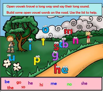 Open and Closed Syllables Activities Orton Gillingham (Dyslexia)