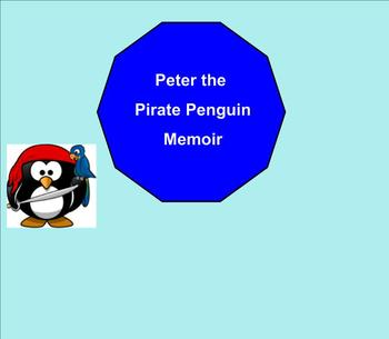 SMART Board:  Peter Pirate : English: Vocabulary Memoir Terms: Smartboard