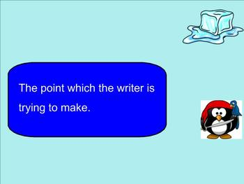 SMART Board: Peter the Pirate: English: Vocabulary Consumer Terms: Smartboard