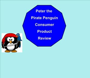 SMART Board: Peter the Pirate: English: Vocabulary Consume