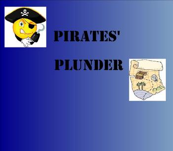 SMART Board: Pirates' Plunder: Algebraic Equations: Math: Smartboard
