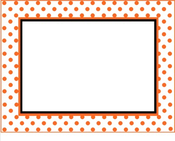 SMART Board Polka Dot Background Pages