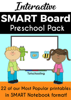 SMART Board Preschool Games