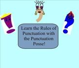 SMART Board: Punctuation Posse: Punctuation: English: Smartboard