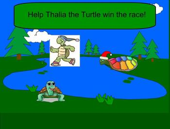 SMART Board: Race Turtles:  Basic Operations Game:  Math:  Addition:  Smartboard