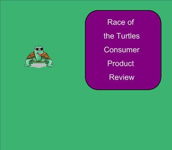 SMART Board: Race of the Turtles: English: Vocabulary Cons