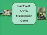 SMART Board: Rain Forest Rescue Game: How to Informational Terms: Smartboard