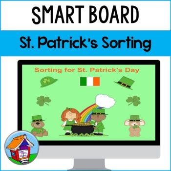 SMART Board Sorting for St. Patrick's Day
