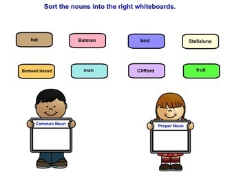 Sorting Nouns: Person, Place, Thing