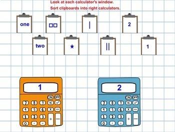 SMART Board Sorting of Numbers