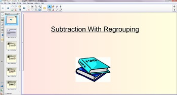 SMART Board Subtraction Regrouping Lesson